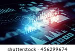 human user display .  mixed... | Shutterstock . vector #456299674