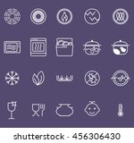 symbols of food grade metal... | Shutterstock .eps vector #456306430