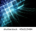 abstract blue background... | Shutterstock . vector #456315484