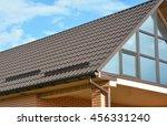 building modern house...   Shutterstock . vector #456331240
