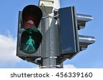 Traffic Lights At The Road...