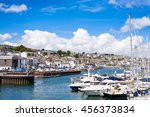 landscape view of falmouth in...