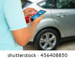 internet of things and smart... | Shutterstock . vector #456408850