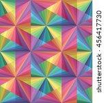 vector illustration. seamless... | Shutterstock .eps vector #456417730