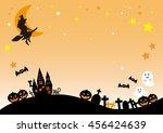 halloween night  jack o lantern | Shutterstock . vector #456424639