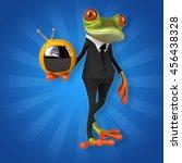 fun frog | Shutterstock . vector #456438328
