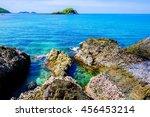 beautiful islands in thailand.... | Shutterstock . vector #456453214