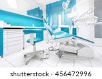 dental clinic interior with... | Shutterstock . vector #456472996