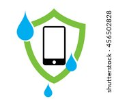 waterproof phone case icon | Shutterstock .eps vector #456502828