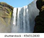 skogafoss 2 | Shutterstock . vector #456512830