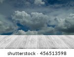 nature cloudscape with blue sky ... | Shutterstock . vector #456513598