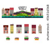 venice panorama. the grand... | Shutterstock .eps vector #456516568