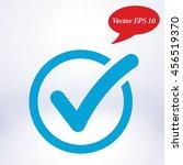 check list button icon. check... | Shutterstock .eps vector #456519370