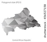 central african republic in... | Shutterstock .eps vector #456527158