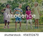 innocence naive innocent kids...   Shutterstock . vector #456552670