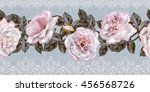 pattern  seamless. old style.... | Shutterstock . vector #456568726