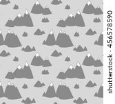 seamless vector pattern with... | Shutterstock .eps vector #456578590