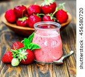 beautiful appetizer red... | Shutterstock . vector #456580720