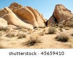 'jumbo Rocks' Desert Rock...