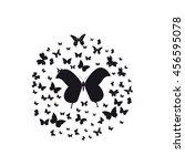 butterfly | Shutterstock .eps vector #456595078