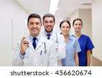 clinic  profession  people ... | Shutterstock . vector #456620674