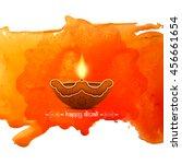 elegant card design of... | Shutterstock .eps vector #456661654