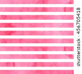 pink watercolor stripes.... | Shutterstock .eps vector #456705418