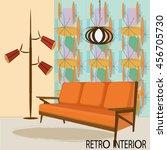 vector illustration of retro... | Shutterstock .eps vector #456705730