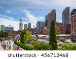 boston massachusetts usa   july ...   Shutterstock . vector #456712468