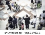 abstract blurred image of...   Shutterstock . vector #456739618