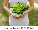 the bride's bouquet | Shutterstock . vector #456745960