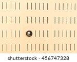 lighting lamp built into the...   Shutterstock . vector #456747328