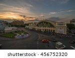 bangkok railway station  | Shutterstock . vector #456752320