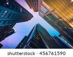 modern commercial building in... | Shutterstock . vector #456761590