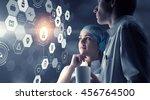 innovative technologies in... | Shutterstock . vector #456764500