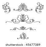 vignettes | Shutterstock .eps vector #45677389