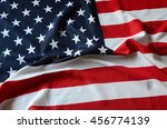 us flag | Shutterstock . vector #456774139