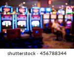 Blurry Image Of Slots Machines...