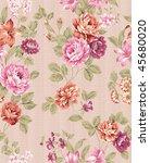 paisley seamless background... | Shutterstock . vector #45680020