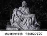 "Small photo of MINI SIAM, PATTAYA, THAILAND. - 20 JUNE 2016: ""Pieta"" landmark of Rome, Italy"