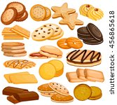 vector illustration of assorted ... | Shutterstock .eps vector #456865618