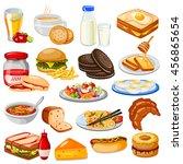 vector illustration of... | Shutterstock .eps vector #456865654