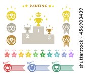 ranking collection and prize... | Shutterstock .eps vector #456903439