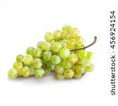 ripe grape on white background. ... | Shutterstock .eps vector #456924154