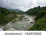 beautiful natural landscape...   Shutterstock . vector #456953830