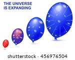 balloons demonstrates the... | Shutterstock .eps vector #456976504
