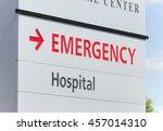 Closeup Of A Hospital Emergenc...
