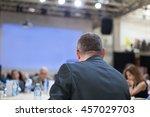 business seminar | Shutterstock . vector #457029703