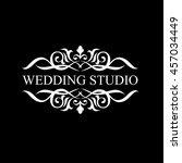luxury logo | Shutterstock .eps vector #457034449