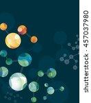 scientific background with... | Shutterstock .eps vector #457037980